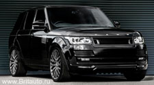 Kahn RS600: тюнинг Range Rover 2013 All-new от Kahn Design. Арочный обвес.