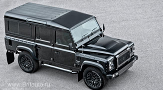 Тюнинг Land Rover Defender 110 Kahn Wide Track Arch Kit
