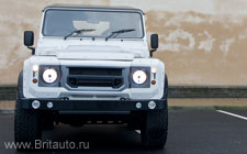 Land Rover Defender Kahn Wide Track Arch Kit 2014