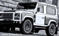 Land Rover Defender Kahn Wide Track Arch Kit 2012