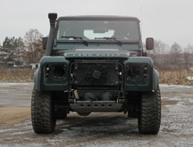 Тюнинг LR Defender 00 в Land Rover Defender 90 Kahn Wide Track Arch Kit