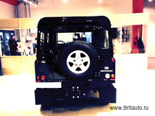 Тюнинг LR Defender 110 в Land Rover Defender 110 Kahn Wide Track Arch Kit