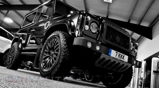 Тюнинг Land Rover Defender 90 Kahn Wide Track Arch Kit