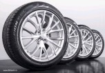 Диск колесный 9,5 х R21 Range Rover Sport SVR 2015 - 2019 и Range Rover Sport 2014 - 2019, цвет: Techno Spider Satin Polish