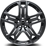 Kahn RS600 R22 Matt Gun Metal. колесный диск Range Rover Velar, Range Rover Evoque, land rover discovery sport.