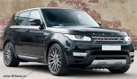 Kahn RS-2 Coswoth Hyper Silver 10 х R22. Колесный диск Range Rover Sport 2010 - 2020, Range Rover 2010 - 2020, Land Rover Discovery 5