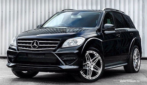 Диск колесный 9,5 х R22 Kahn G06 Mercedes ML - Maybach.